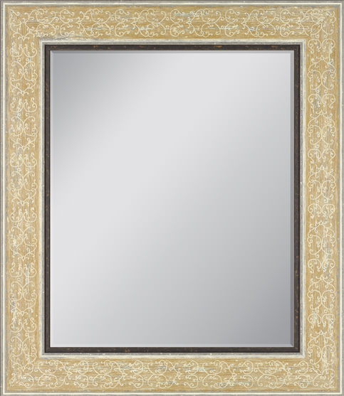Because The Frame Is Only Decorative Element On A Mirror Make Bold Choice Feel Free To Use Frames With Exotic Or Unusual Finishes Designs