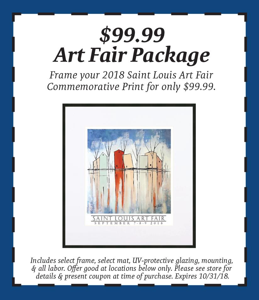 2018 Saint Louis Art Fair - The Great Frame Up