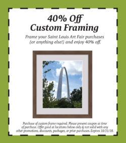 2018 custom framing coupon