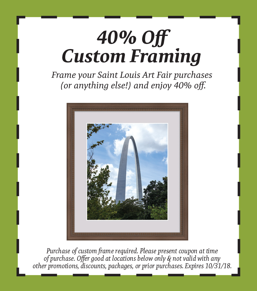 2018 custom framing coupon - The Great Frame Up